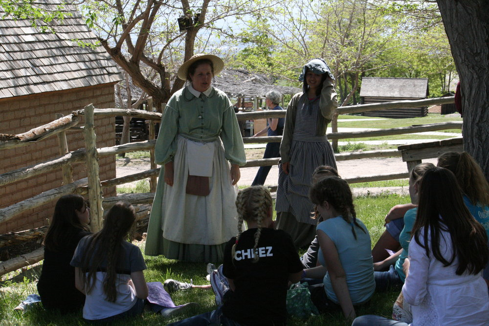 Networking Socially Your youth group or singles organization will have a memorable experience stepping into the 19th Century for the day.