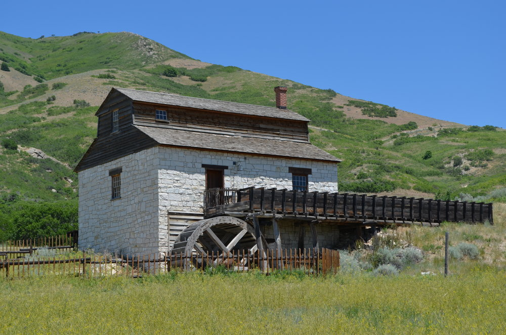 Manti Fort Gristmill