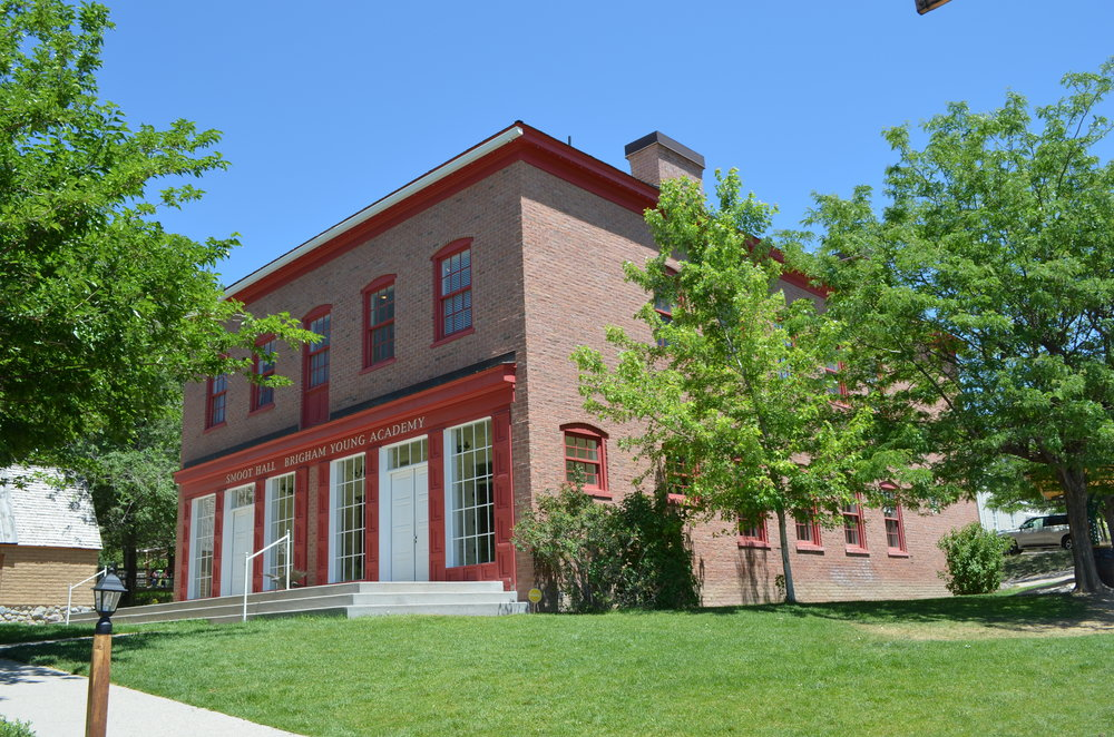 Smoot Hall at Brigham Young Academy
