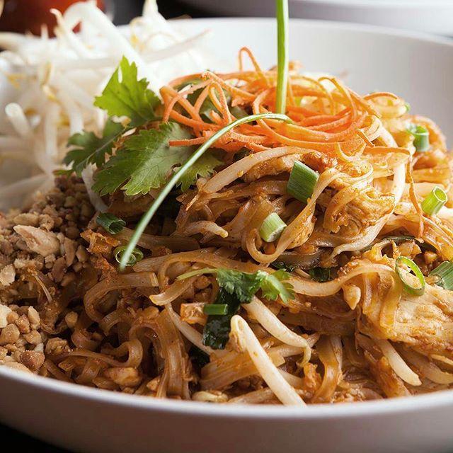 Savory Thai dish, Pad Thai from @tangswilkesbarre #lovetangs #wilkesbarre #pennsylvania