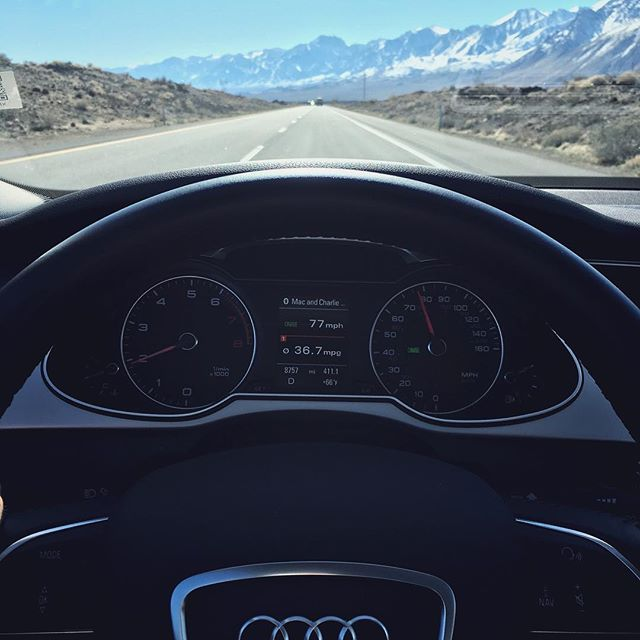 have you rented with Silvercar before? we've been a fan since they were a startup and have even used them to go find snow ❄️ . check them out @silvercarbyaudi