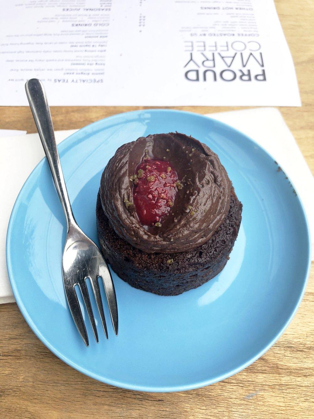 gf v dessert before breakfast at proud mary