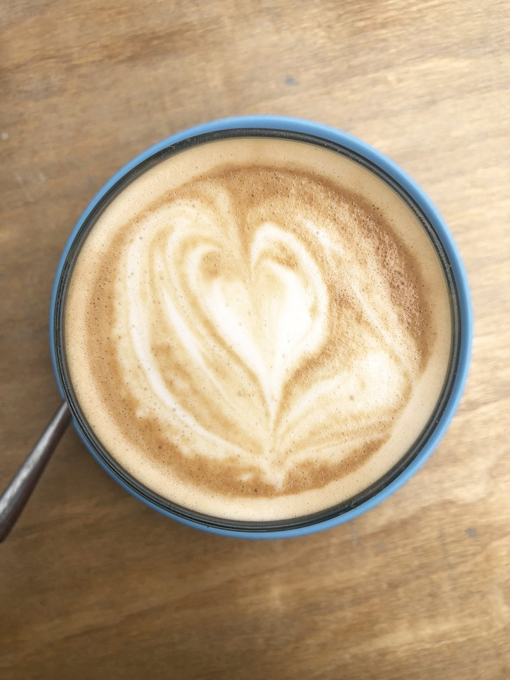 the best latte at proud mary