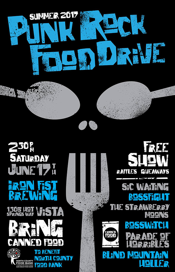 6/17/2017 - The Summer 2017 Punk Rock Food DriveClick for Photos, Results, and Lineup Info