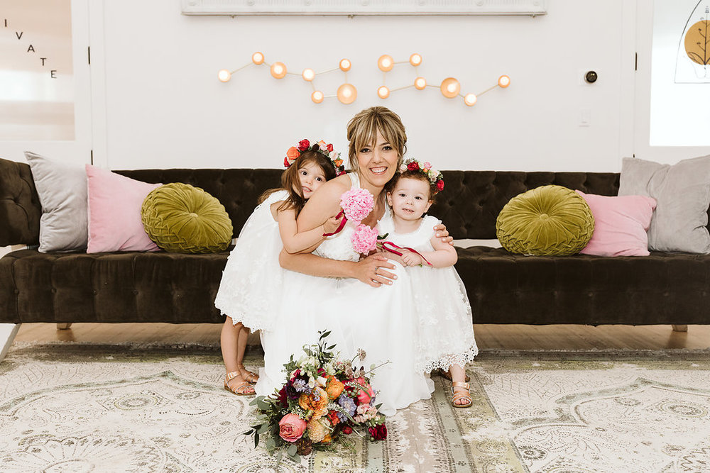 Flower girl love - Royal Bee Florals and Events