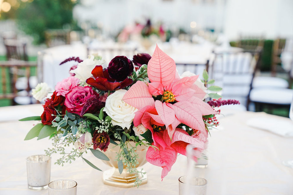 Jewel Toned wedding in December - Royal Bee Florals and Events