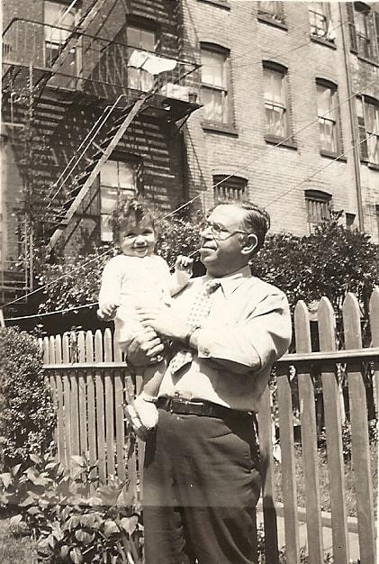 Me and my grandpa, Joe.