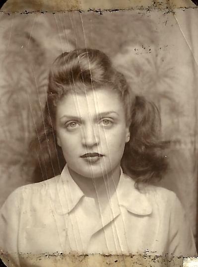 My mom, Dolly.