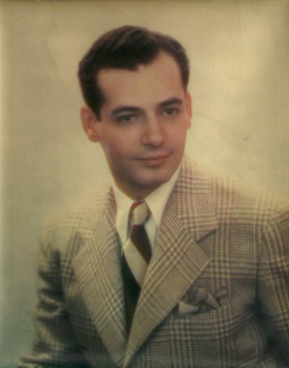 My dad, Tommy, aka Frankie.