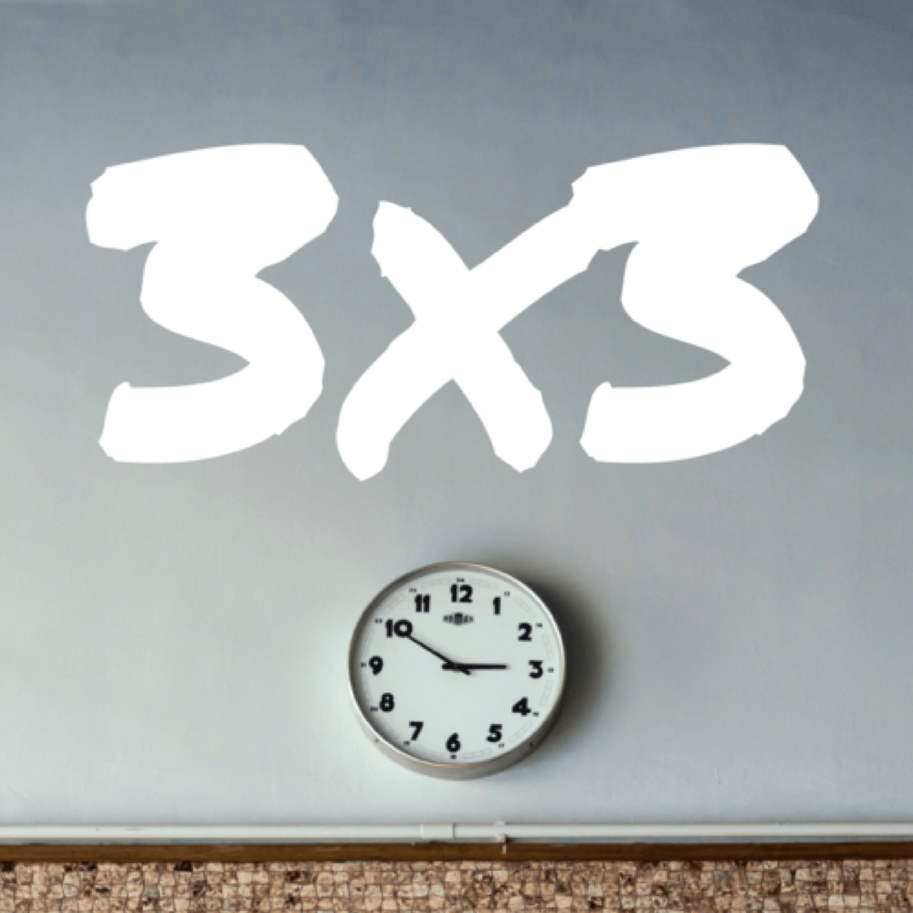 The 3x3 rule - a take on time management