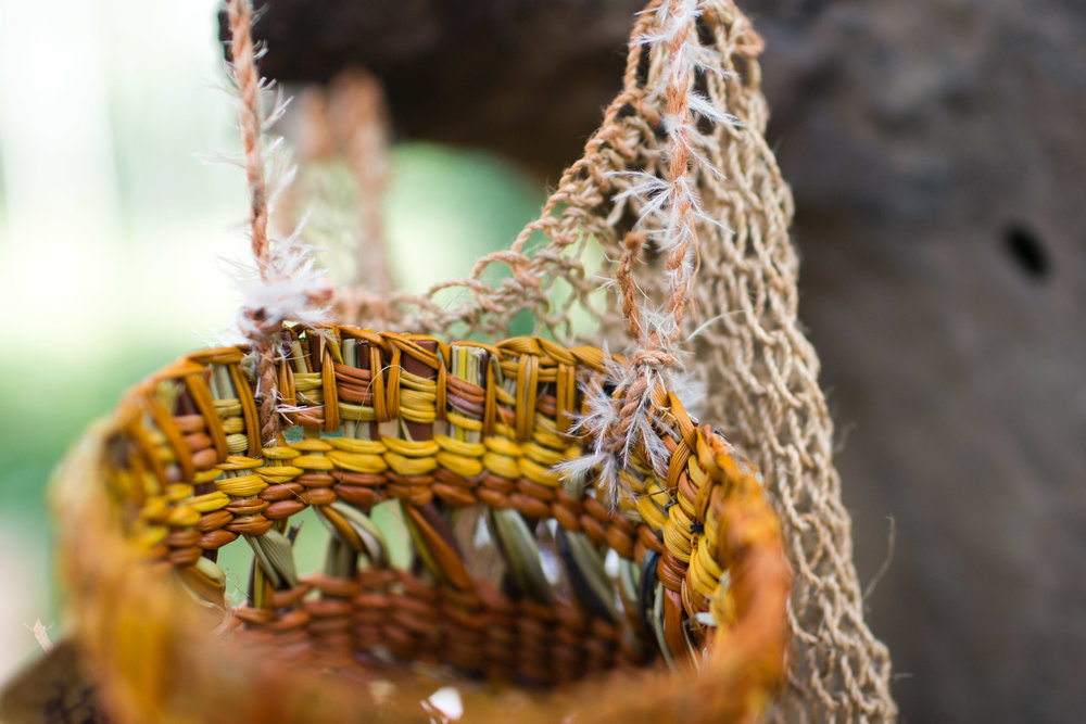 BARE Weaving Dilly Bags & Natural Dyes -