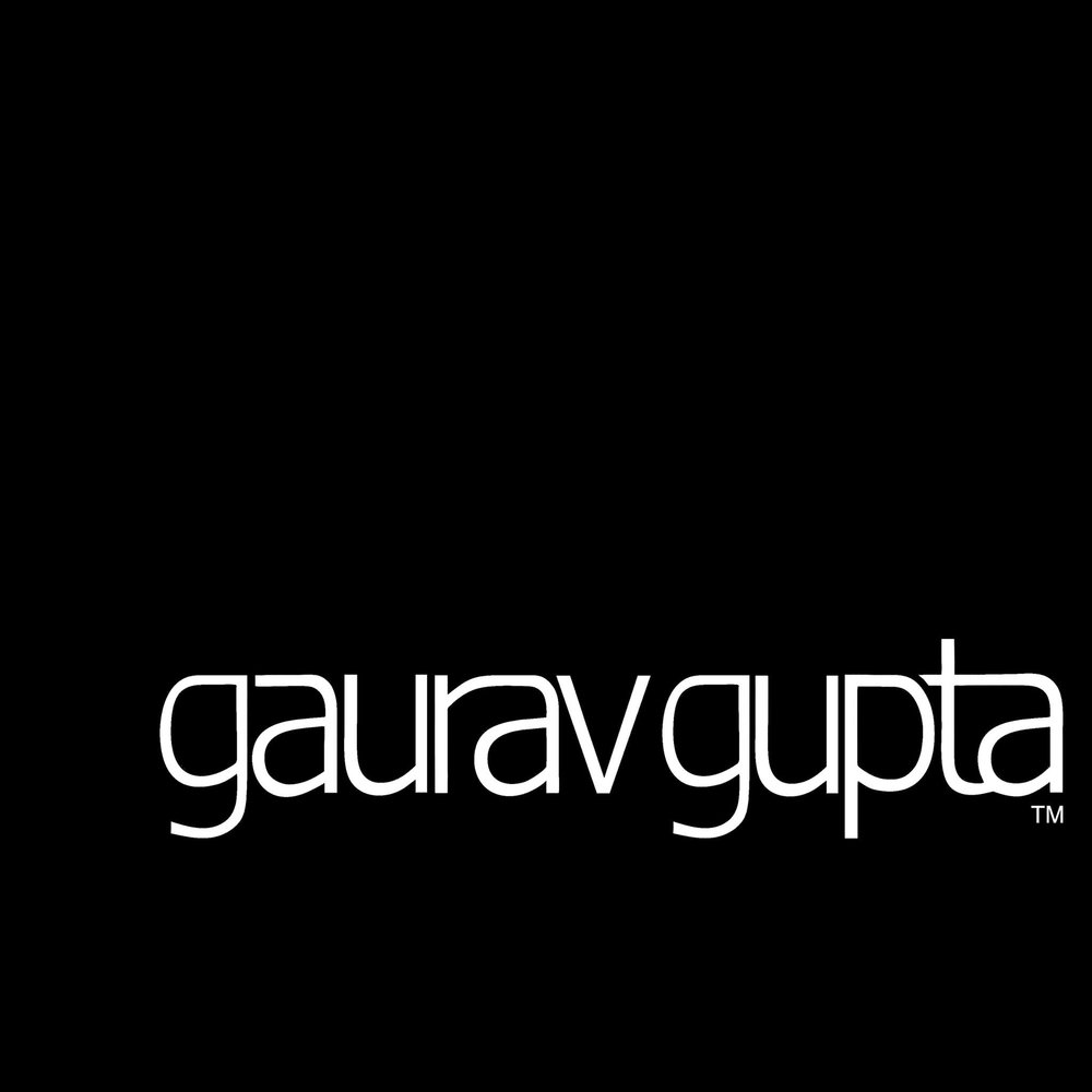 Gaurav Gupta   Ushering his brand in with bridging contradictory worlds has made Gaurav Gupta the most swiftly recognized name in Indian fashion. Gaurav works very closely with lines and the motion of fabric. Embroideries in three dimensions, volume play and extempore draping have created a signature look that is hard to place but is reminiscent of a familiar classic.