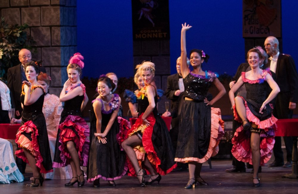 Grisette in  The Merry Widow  with Lyric Theater of San Jose, November 2012.