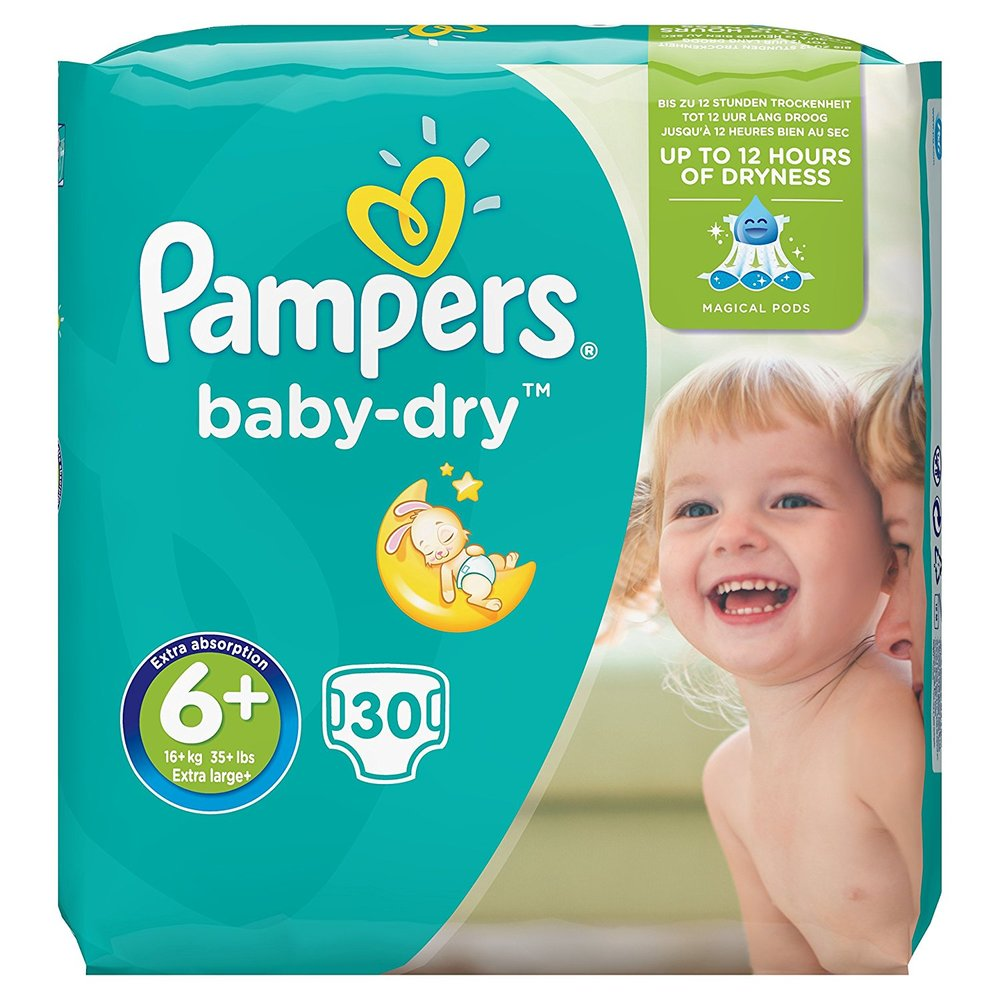 Nappies - Toddler (Size 4-6+)   from £9.20