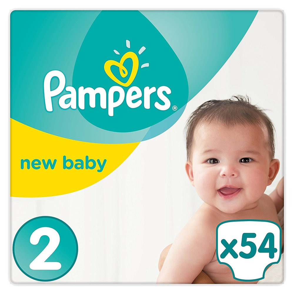 Nappies - Baby (Size 1-3)   from £9.20