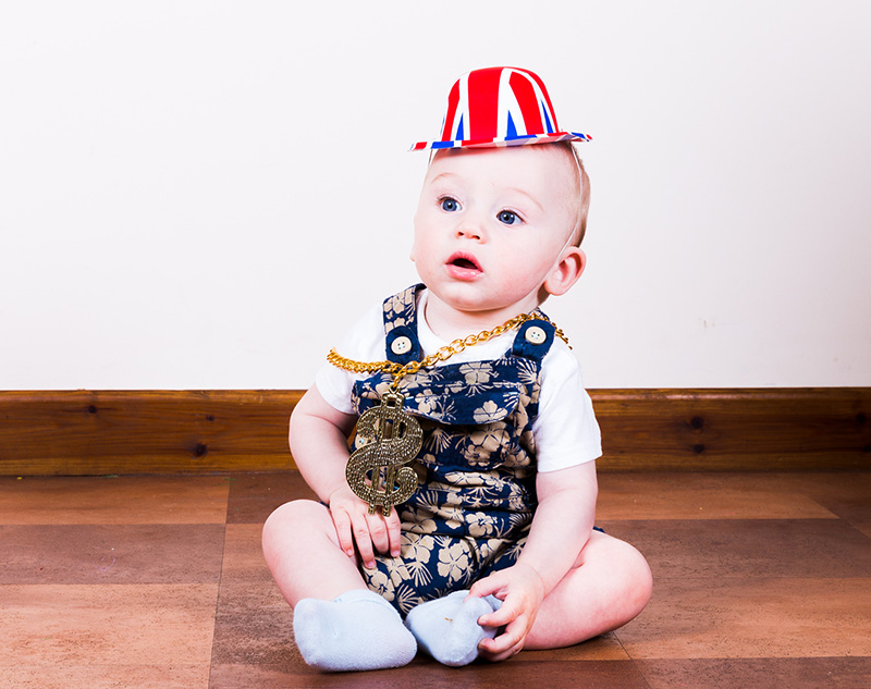 Party Portraits, Cambridge, Photographer, Photo booth, 1st Birthday, Child, Toddler, Photography, Baby gangster