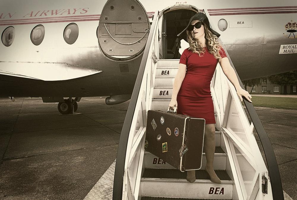 Airport portrait