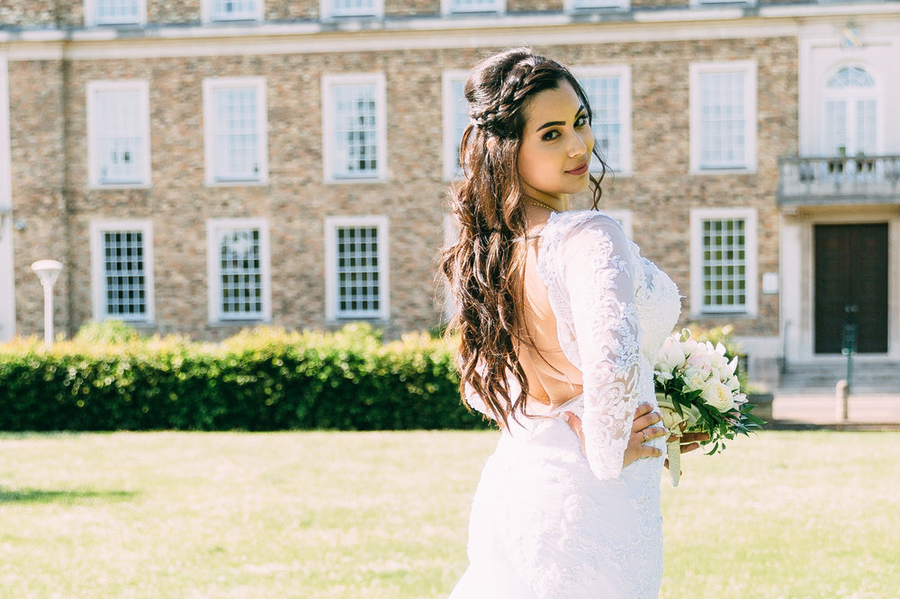 Cambridge registry office wedding