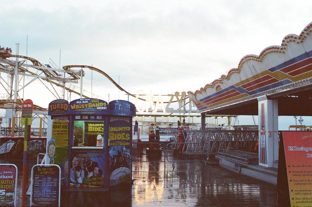 Brighton Pier Canon A1 35mm