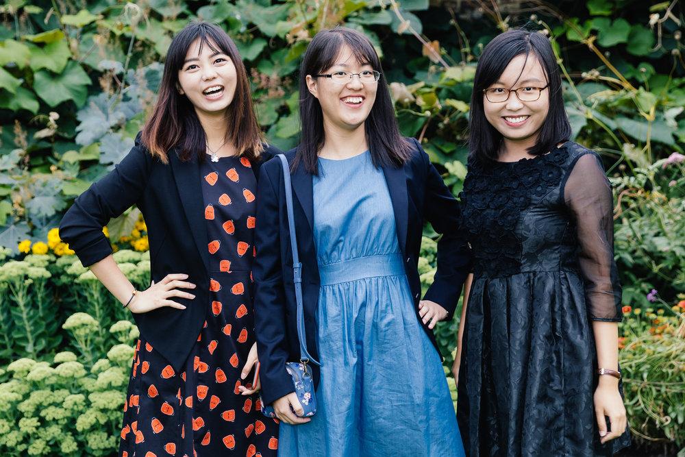 International student portraits