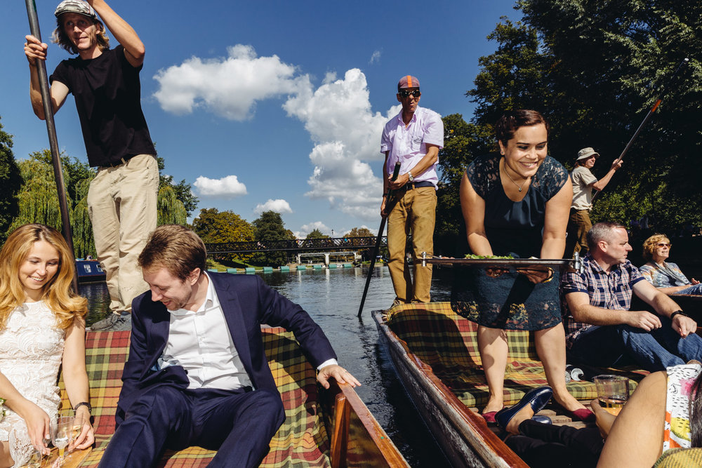Cambridge punt party