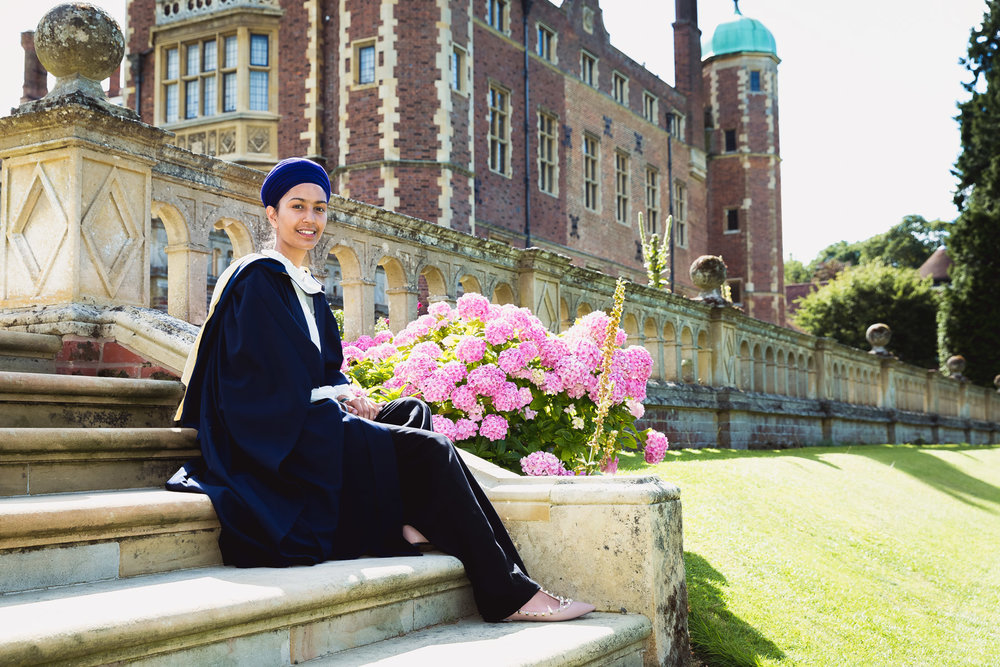 Madingley Hall Cambridge graduate