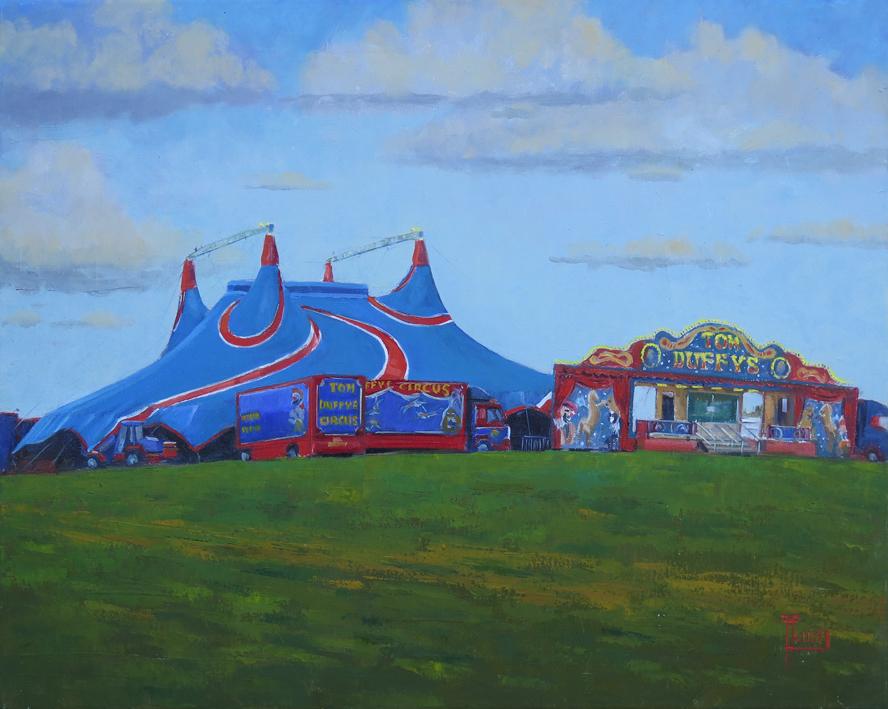 Frank Hallinan Flood: Circus