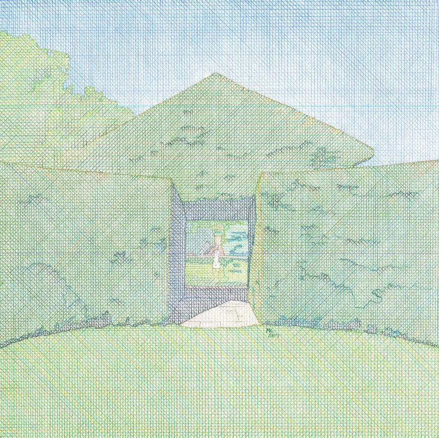 Mark Costello: Topiary Doorway