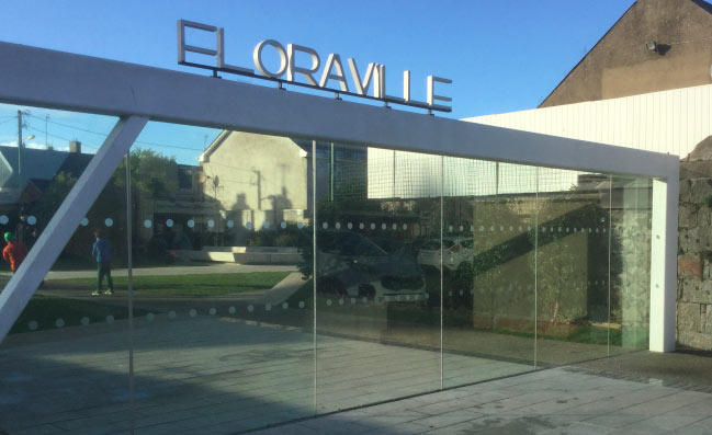 Floraville is the 'People's Park' on Strand Street. It is immediately beside Skerries Library Please note it is an outdoor venue