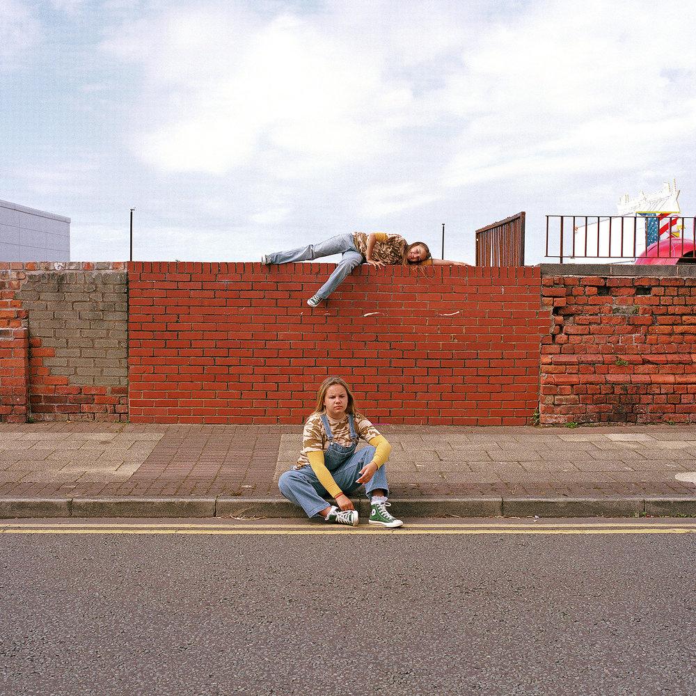 Marni-Lee and Amelia. New Brighton, 2016.