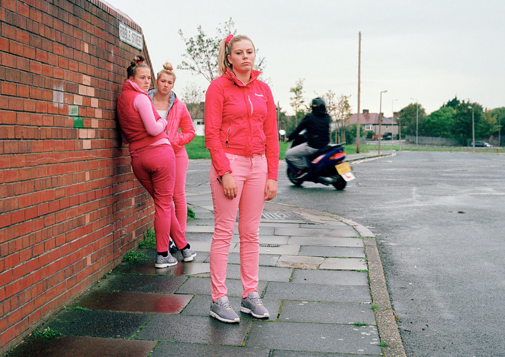 Charlotte, Catherine and Mille. Birkenhead, 2014.