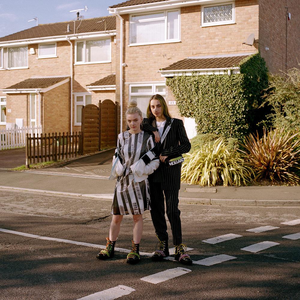 Eve and Chloe. Bristol, 2018.