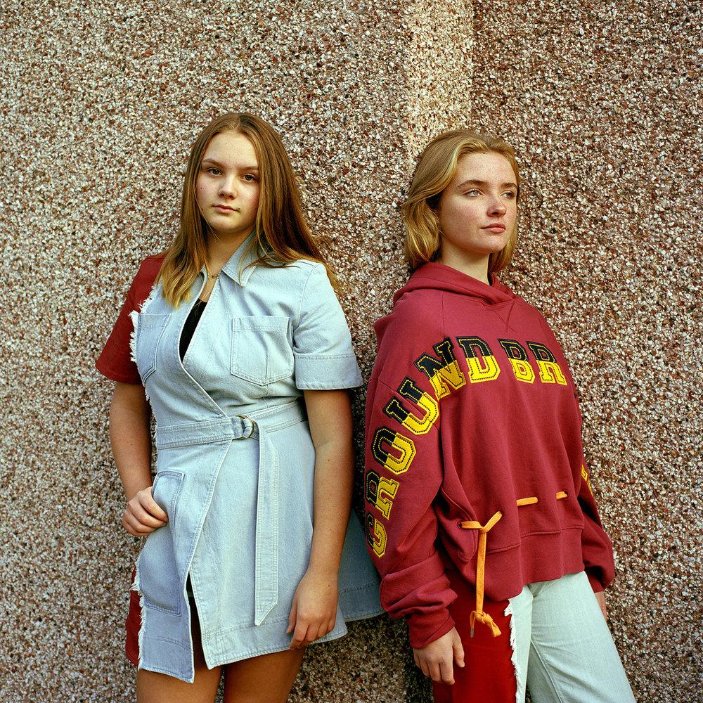 Elouise and Erin. Bristol, 2018.