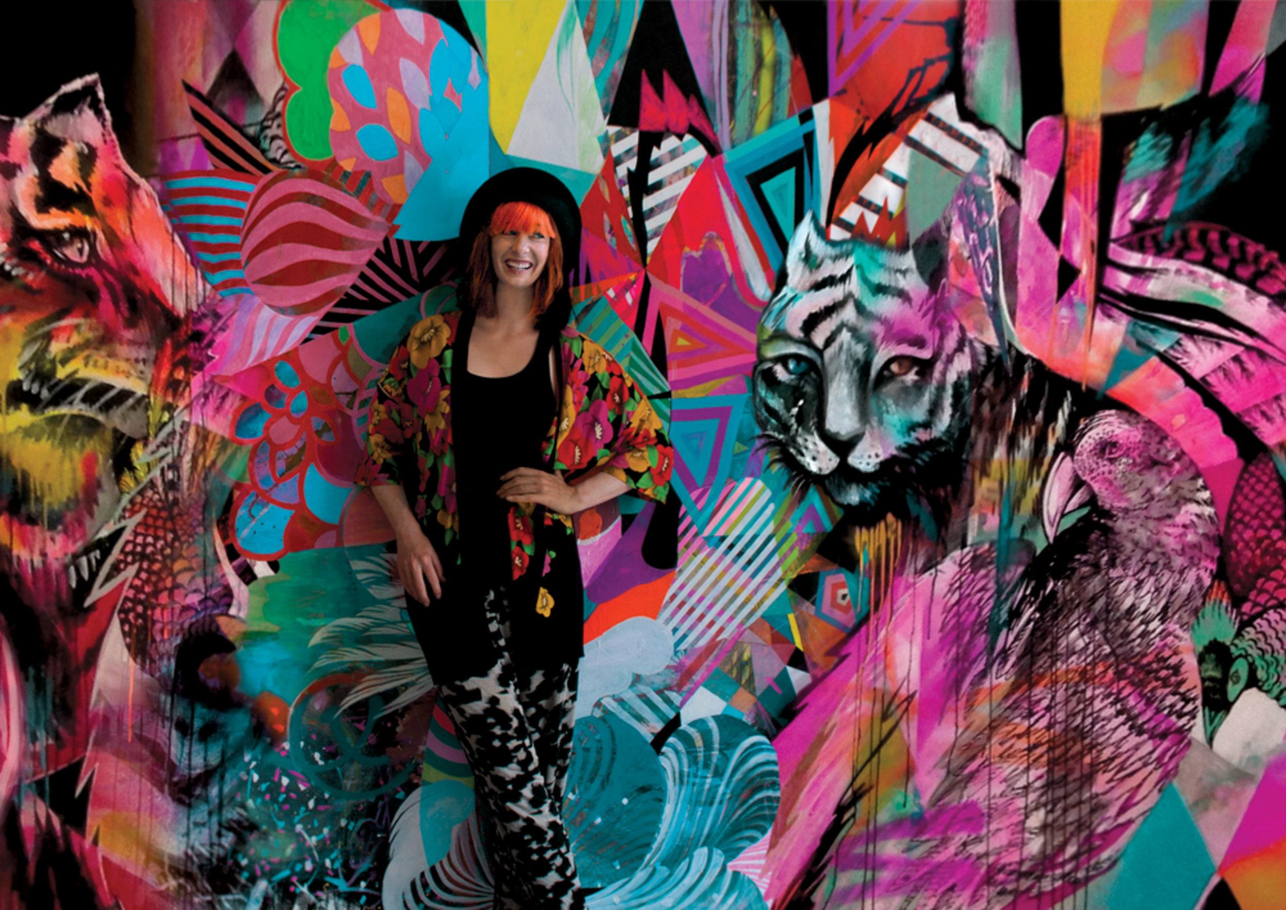 Artist Shannon Crees