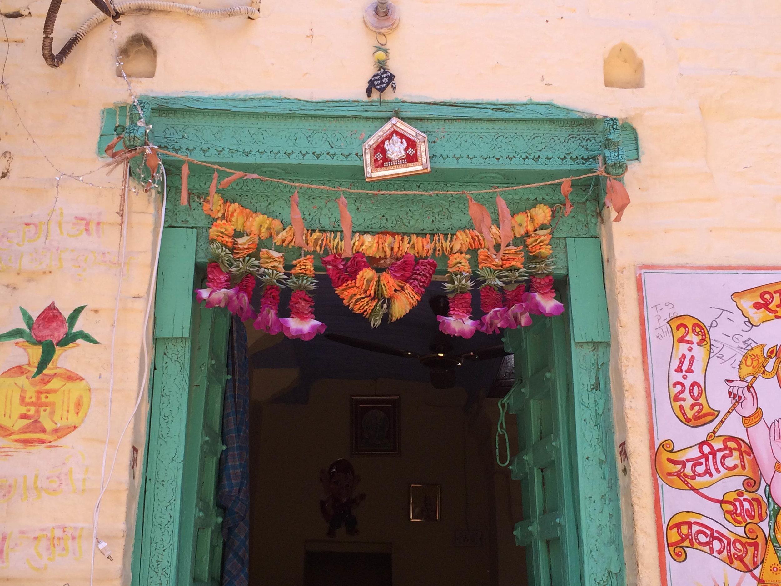 DOorway in Jaisalmer