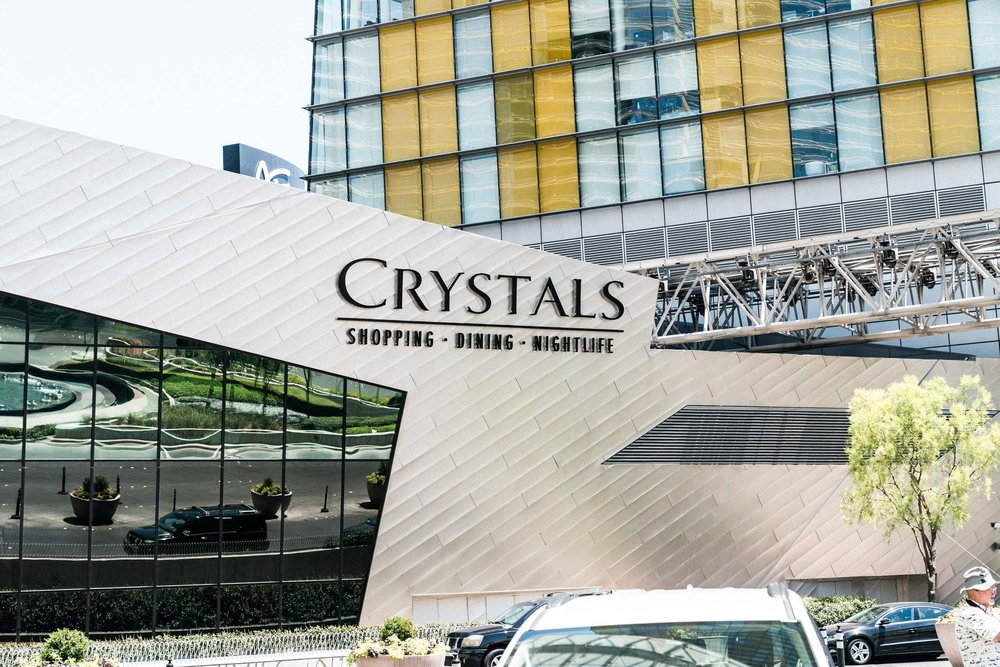 Crystals Mall where Xavier had lots of fun watching the art installations