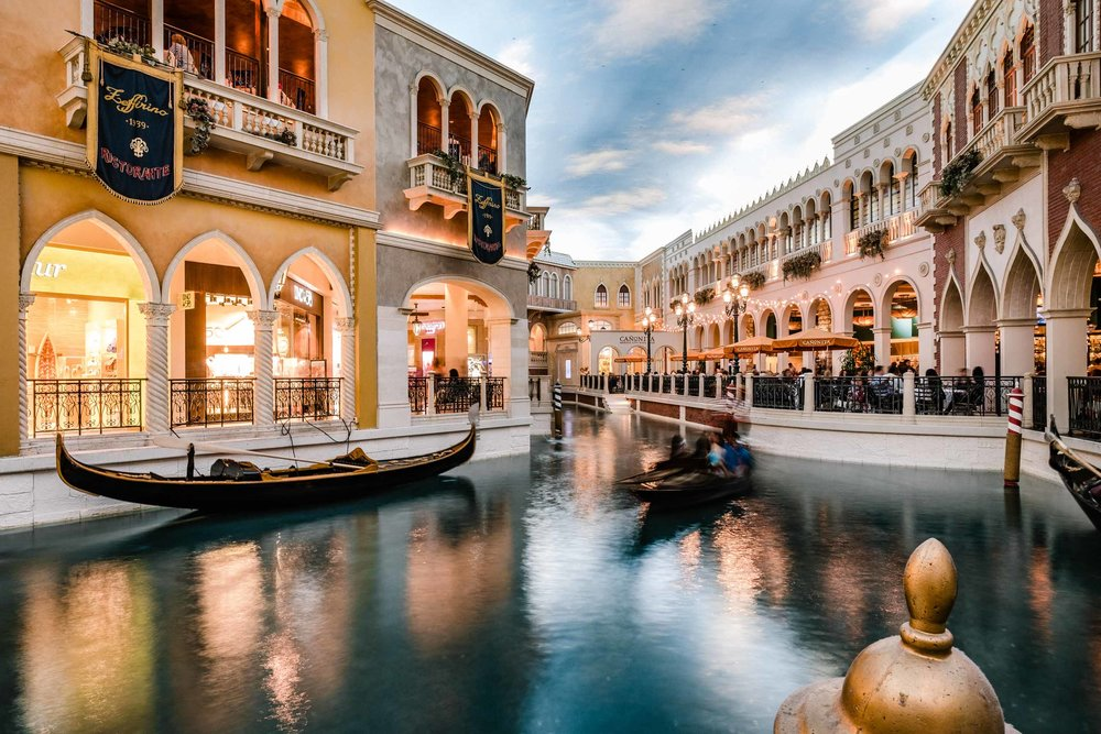 The Venetian, just like a movie set!