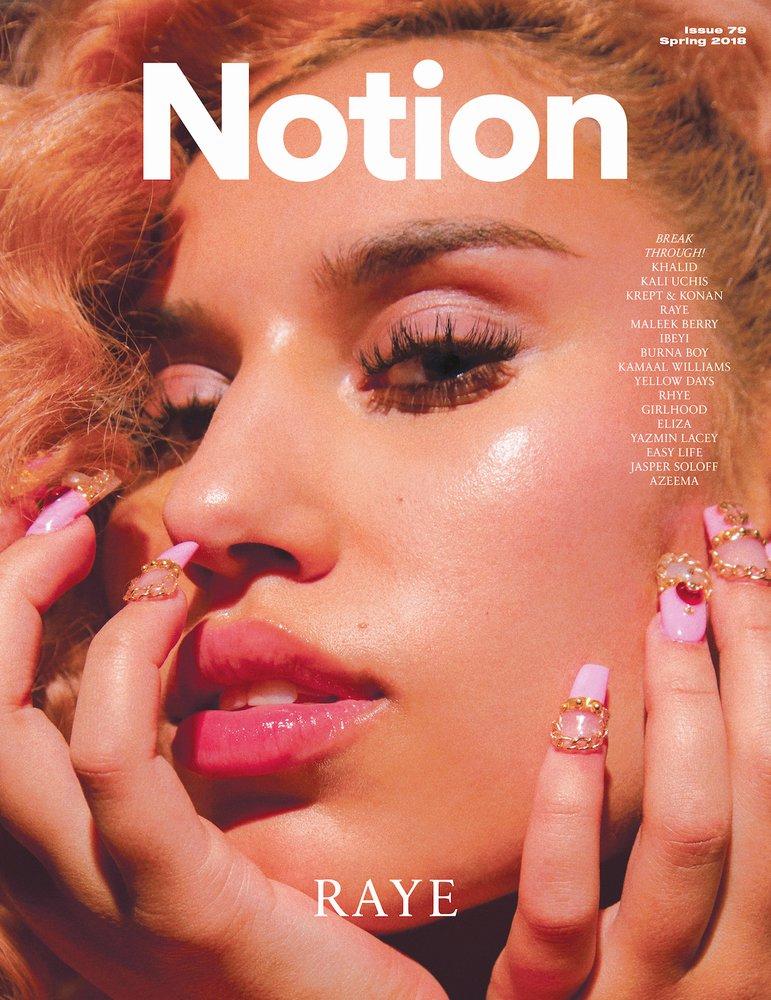 Notion Magazine print issue 79  #Notion79