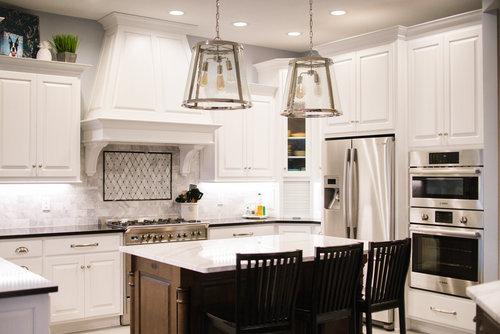 Gourmet Kitchen Renovation — Maple & White Design