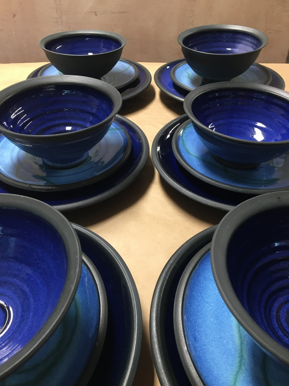 & TABLEWARE and PLACE SETTINGS u2014 Lisa Knaus Pottery