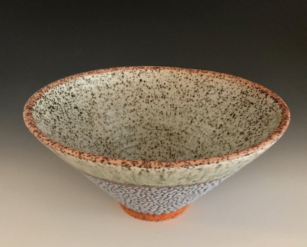 Salad Bowl: Montauk Sand, Orange and Lamb's Ear