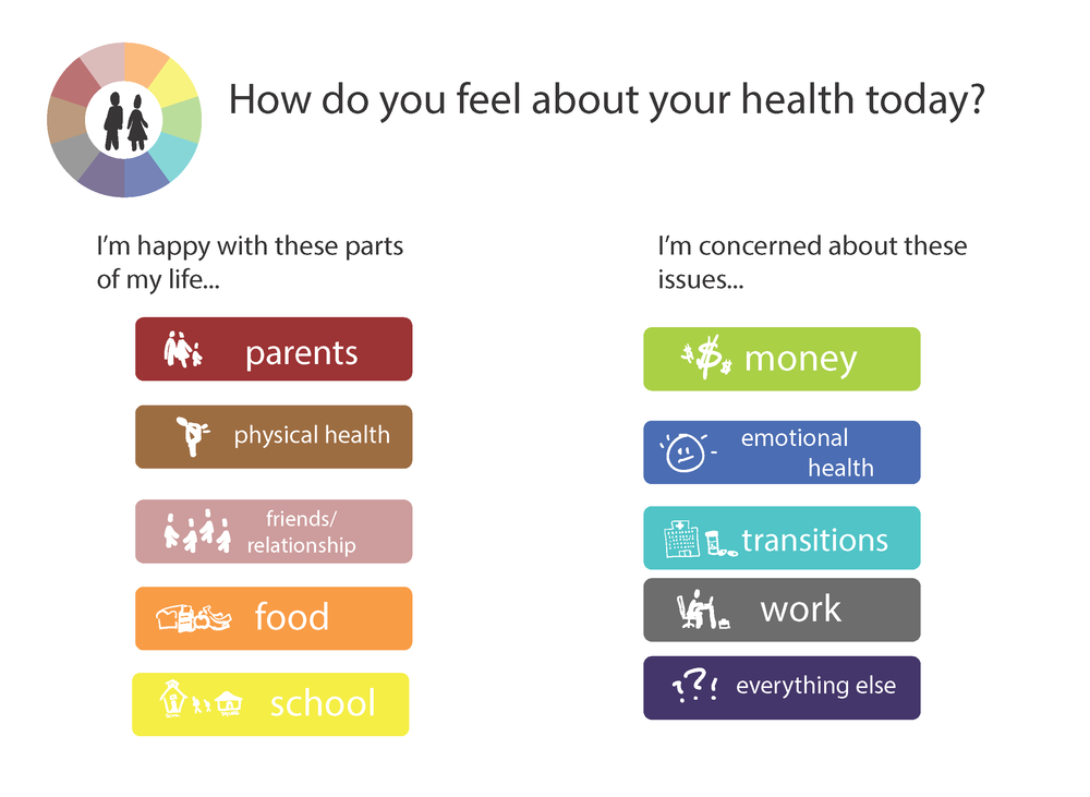 Utilized an existing health tool