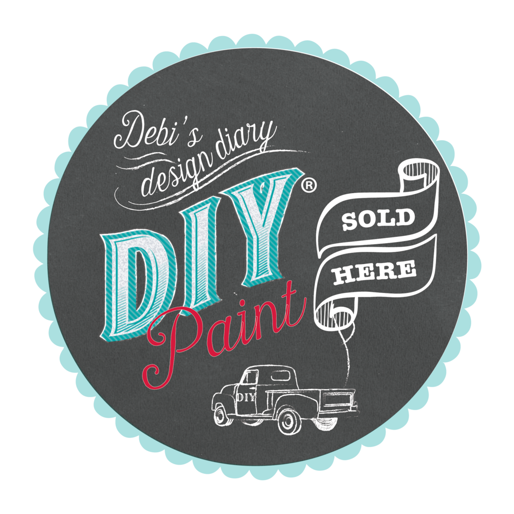Click on the logo above for my affiliate link to order DIY paint online.