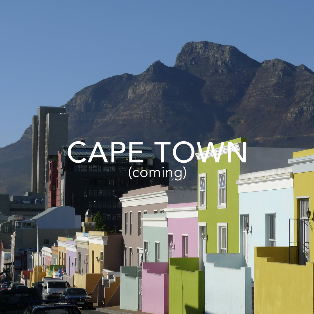 Cape Town coming 2018