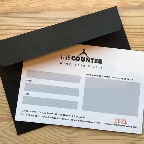 Post the counter deli gift voucher well post it out for free yelopaper Gallery