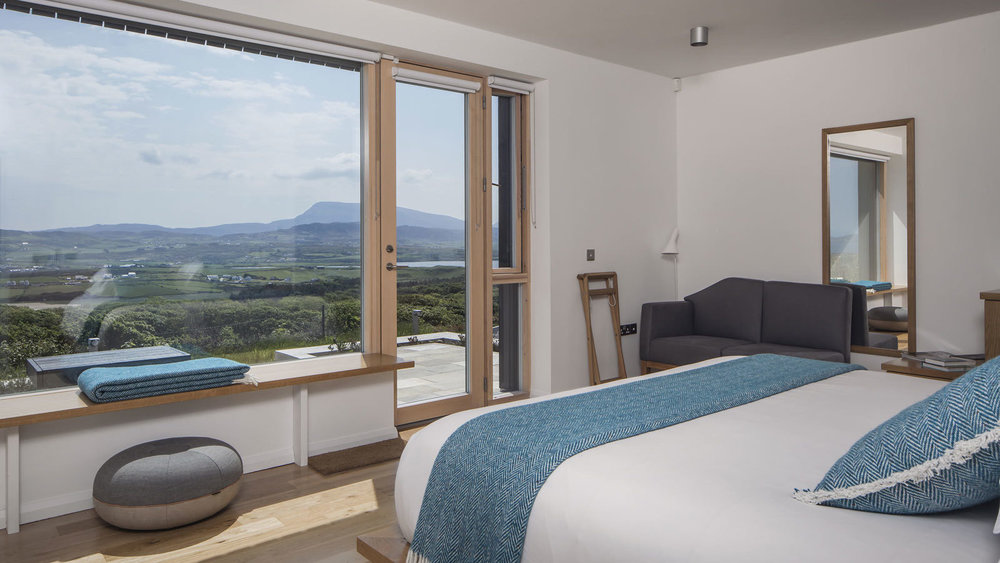 View from one of the gorgeous bedrooms.