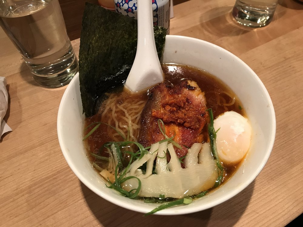 The main deal - the Pork Ramen