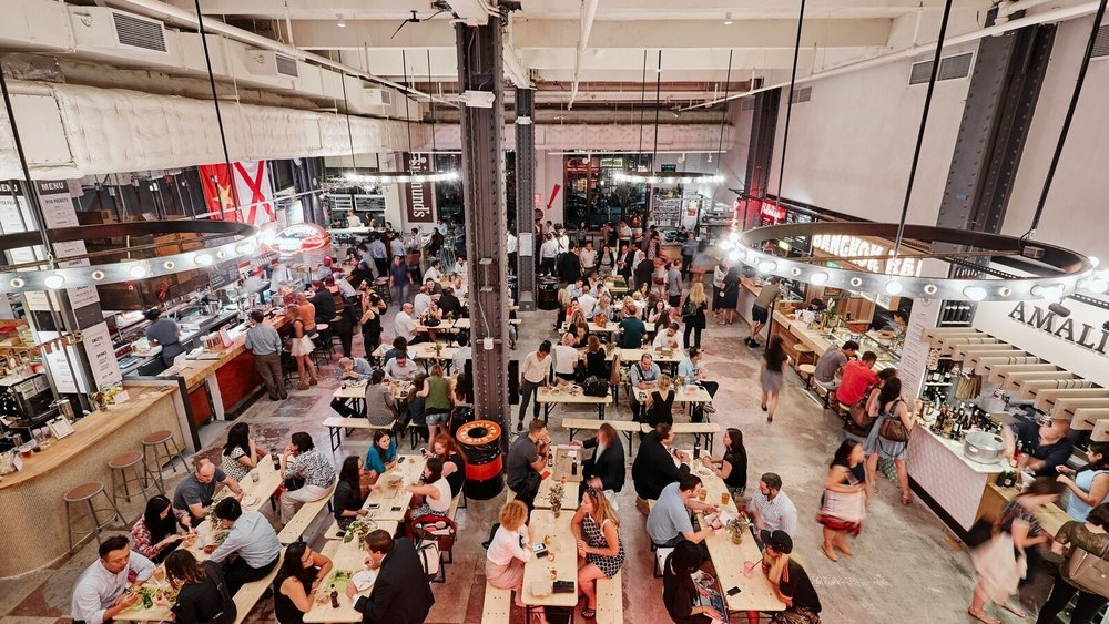 Urban Space… foodie heaven…