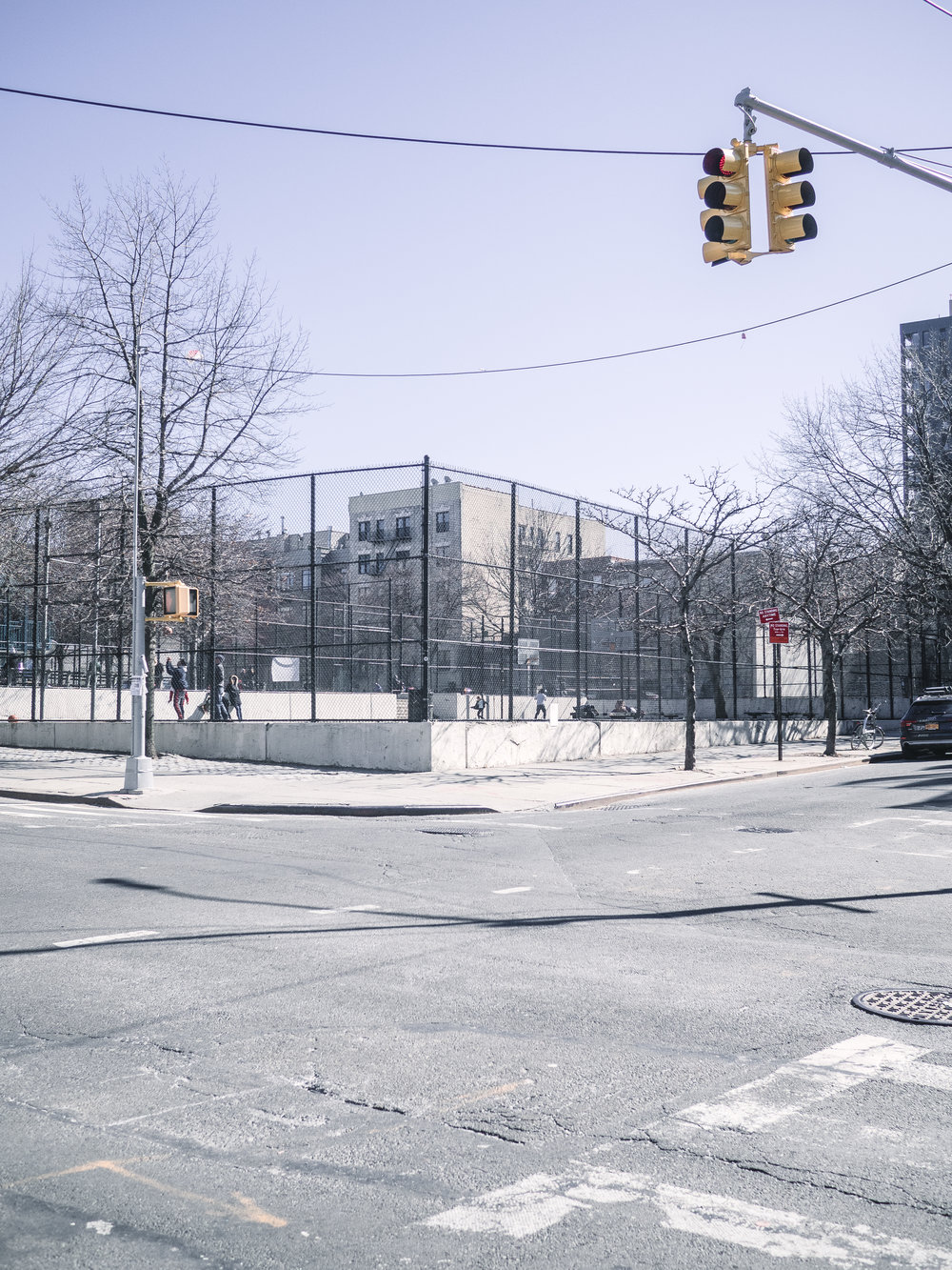 Basketball Court, Brooklyn