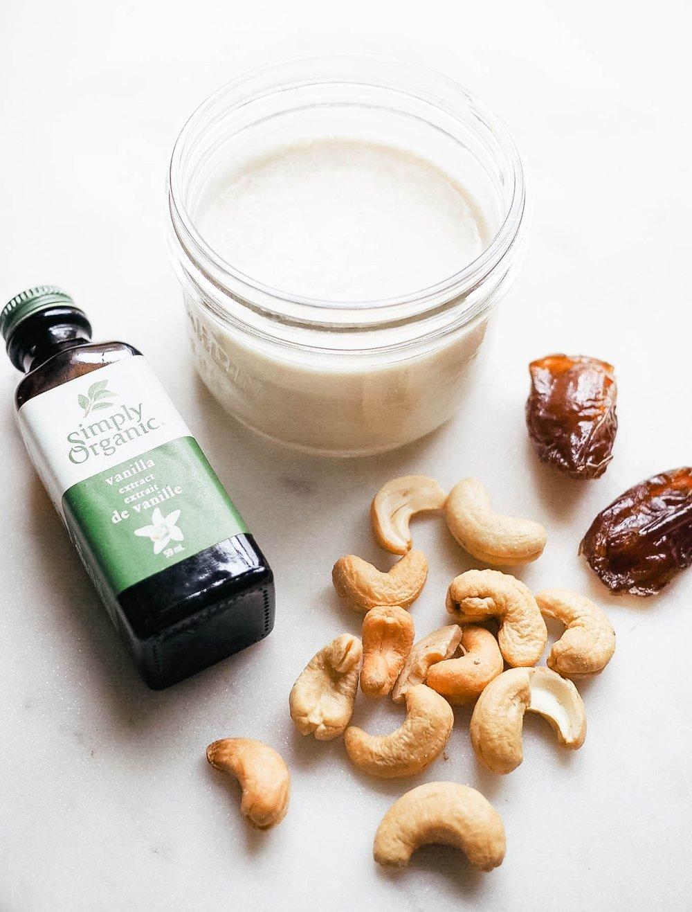 Homemade Cashew Milk - Kris Gill